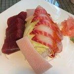 My consistent sashimi plate