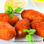 """Cafe-Bar """"El Gallo"""" - Croquetas"""