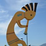 Kokopelli, a fertility deity among the Hopi