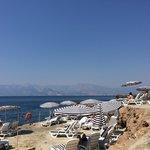 Vista spiaggia hotel