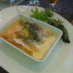 Lasagne di merluzzo e gamberi