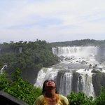 The magnificent falls.