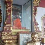 The mummified monk