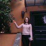 orange tree outside room
