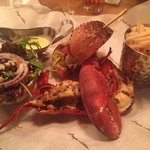 If you and a friend/date/family member order a lobster, ask for a burger and for it to be split