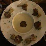Suprême d'artichauts à la truffe, simplement succulent!