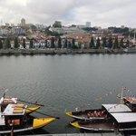 View of Douro River and Vila Nova de Gaia from Room 402
