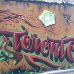 Fantastic evening on the Graffiti tour with Jason of Tour Guys