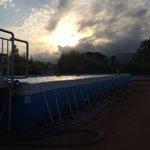 Nouvelle piscine provisoire