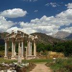monumental gateway (tetrapylon)