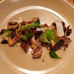 Pan Roasted Kennett Square Mushrooms - a $14 one-third of a mushroom