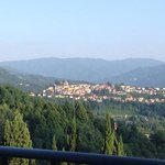view of Barga from our room!!! really great....