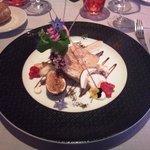 Menu Saveur - Entrée: Pressé de volaille au foie gras
