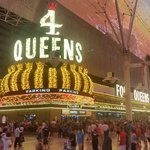 Four Queens casino from Fremont Street