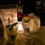 Mojito e Gin tonic!! Super!!