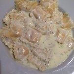 Ravioli au saumon