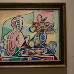 Picasso - Mandolin and The Vase of Flowers - 1934
