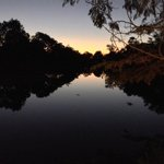 Sunset over the Maramba River