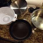 Dirty cookware