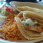 Taco & Enchilada combo