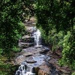Corra Linn Falls at New Lanark