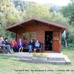 Vistes d'Encamp i alguns plats de la Carta de LA CIRERA