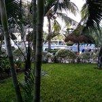 vista desde el pasillo del hotel