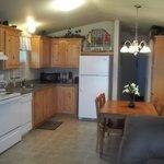 2 Bedroom Cabin Kitchen