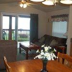 2 Bedroom Cabin Livingroom
