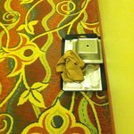The tray of food that lived on the 12th floor for an entire stay 8/15-8/16/14 ... Yuck!