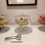 Snacks in executive lounge