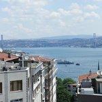 view of Bosphorus bridge from room 602