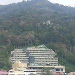 Hotel in hillside