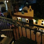 the night view of Calle 10 that leads to Fifth Avenue on my left and on my rught leads to Munici