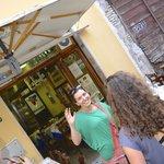 Our Roman guide Francesca