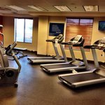 Fitness room at the Hampton Inn and suites Casper Wyoming. Photo by Terry Hunefeld.