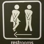 Lobby Washroom Signage