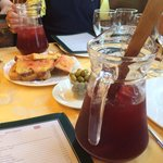 Sangria was good