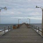 nearby pier