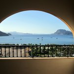 View from 3rd floor out to Danzante Bay