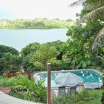 Pool area and Lagoon