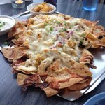 Santa Fe nachos in picture.