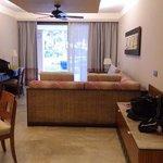 suite: large sitting area