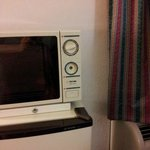 Room microwave, missing knob