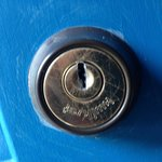 Busted / Non-Operational Deadbolt.
