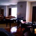 salon de la suite 2 chambre luxe