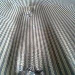Exposed and broken sharp jagged mattress springs