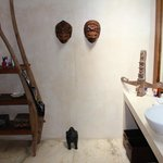Villa Sayana- Bedroom 1 bathroom