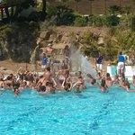 water party à la piscine