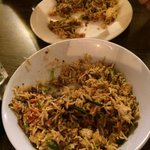 Beef fried rice Sri Lankan style
